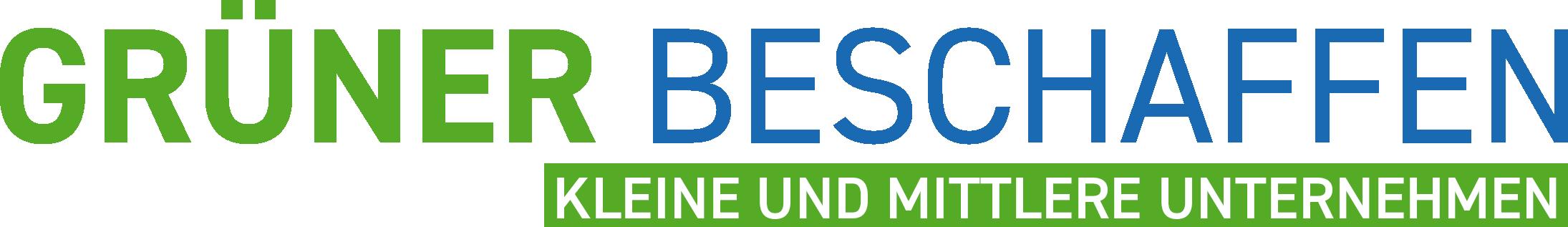 Logo Grüner beschaffen