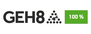 """Die Initiative Pro Recyclingpapier (IPR), das Umweltbundesamt und die Kompetenzstelle für nachhaltige Beschaffung würdigen GEH8  auf der Plattform """"Grüner beschaffen"""" für die Verwendung von Papier mit dem Blauen Engel als """"Recyclingpapierfreundliche Organisation""""."""
